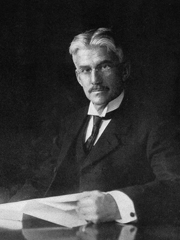 A portrait of color scientist and educator Albert Munsell