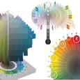 The three attributes of color - hue, value and chroma make up the Munsell color notation or naming convention