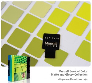 Munsell Books of Color; Color Index & Swatch Books; Munsell Color ...