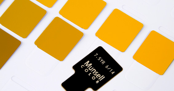 About Munsell, the Color Company:: Munsell Color is comprised of the original Munsell Color Company that Albert H. Munsell started nearly a century ago.   Our specialty is developing and producing physical color standards based on Munsell color theory.  The result is a variety of simple yet accurate visual color tools that help you work with color more effectively.   More importantly, you can trust in the accuracy and reliability of our color tools to scale from single location to multi-facility enterprise.:: http://munsell.com/color-blog/about-munsell-the-color-company/