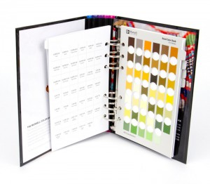 Munsell Bead Color Book Chart