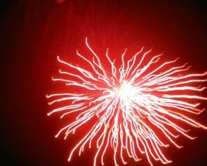 red-firework