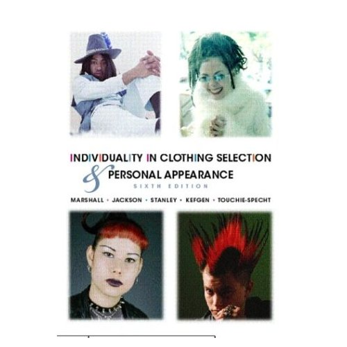 individuality in clothing selection and personal appearance book cover