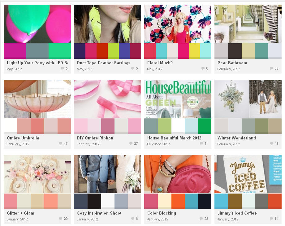 color design website colour lovers