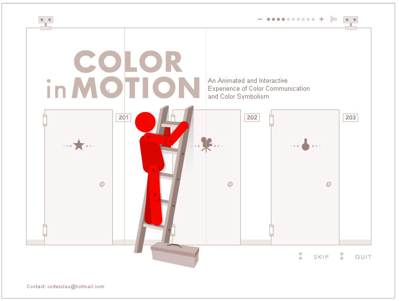 color in motion website