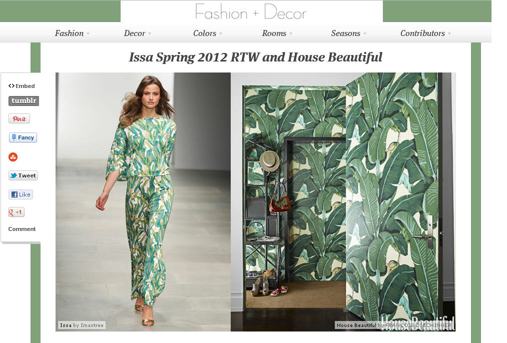 fashion decor website by gretchen aubuchon