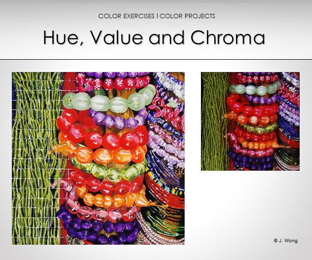 color dimension hue value and chroma