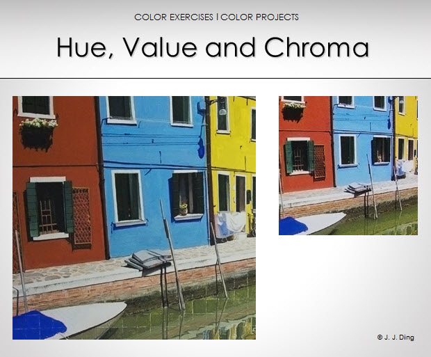 color fundamentals hue value and chroma