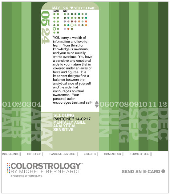 colorstrology website