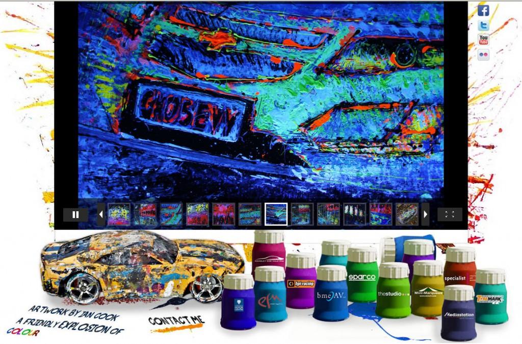 pop bang colour website