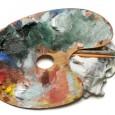 mixing paint colors palette