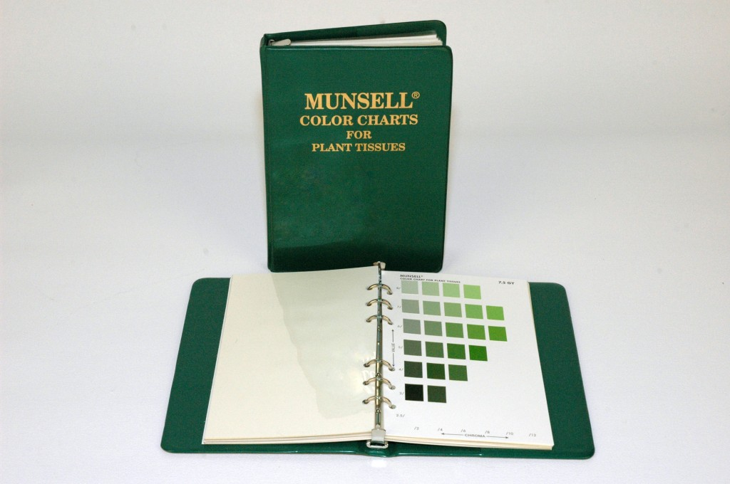 Munsell Plant Tissue Color Charts for Identifying Plants Update ...