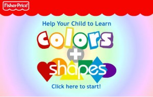 color and shapes from fisher price