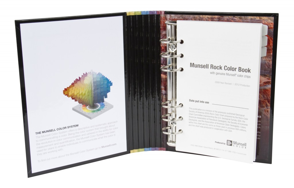 munsells new rock color book helps with identifying colors in nature munsell color system color matching from munsell color company - Munsell Book Of Color
