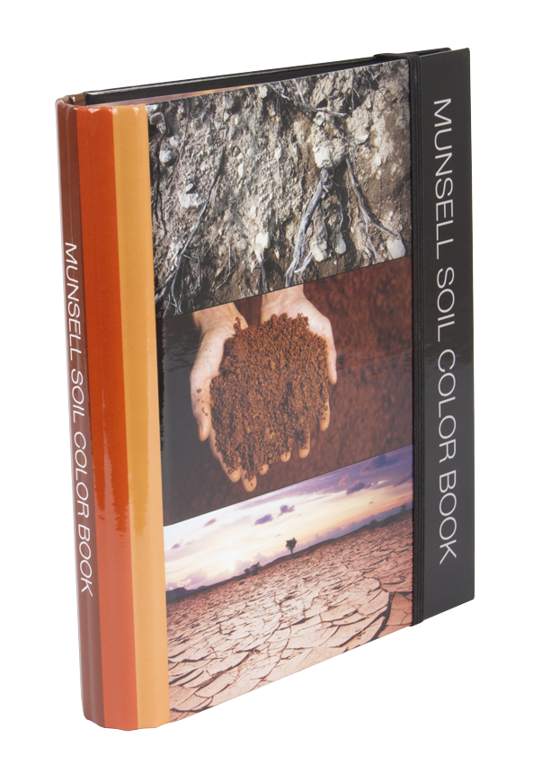 munsells new soil color book helps with identifying colors in nature munsell color system color matching from munsell color company - Munsell Color Book