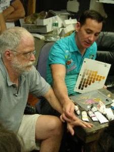 Graydon Parrish's popular color theory class