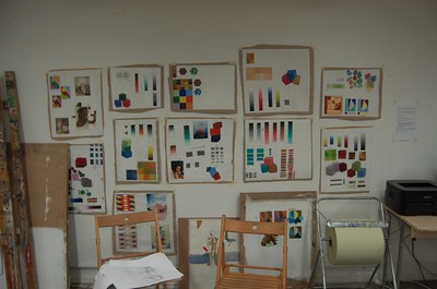 Munsell Color Theory Action Boards