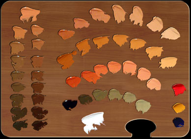 Munsell and the color of flesh part 2 munsell color - Que pintura utilizar para madera ...