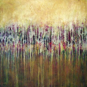 The painting 'Horizon' ID# C-0911, 48 x 48 inches, by Shirley Williams © 2009