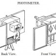 Munsell knew that his color theory needed buy in from scientists in order for it to be widely accepted and used by artists. Drawing of Photometer.