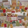 An assortment of old boxes of crayons, from Ed Welter, crayon collector