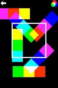Screenshot from Chromixa color app.