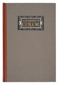 Cover of A Grammar of Color book, by Munsell and Cleland