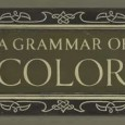 Cover plate for A Grammar of Color, a 1921 book about the Munsell Color System.