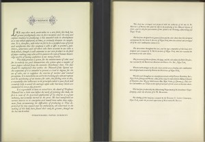 Image of the Preface pages from the book, A Grammar of Color, about the Munsell Color System
