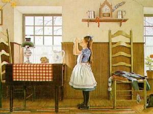 Painting: After School, by Harold Ransom Stevenson