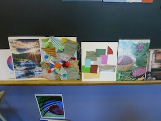 Art design projects for students at the Rhinebeck Science Foundation Discovery Festival.