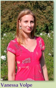Photograph of Vanessa Volpe, colour therapist with Colour For Well Being.