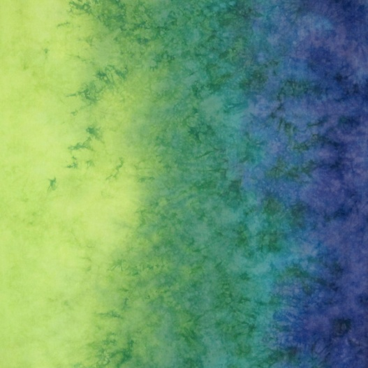 Hand dyed fabric by Vicki Welsh, using the Munsell Color System for color palettes.