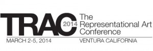 Banner for The Representational Art Conference - TRAC 2014.