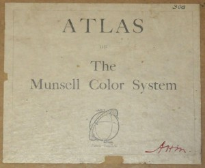 Atlas Munsell Color System Book Cover