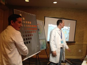 Graydon Parrish and Steve Linberg, presenting The Munsell Color System for Artists at the Representational Art Conference, TRAC 2014.