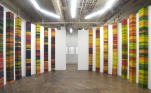 Katie Murken's art installation, Continua, based on the Munsell Color Tree.