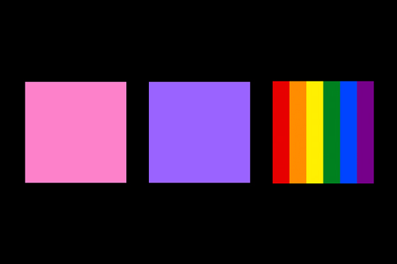 Gender why that color gender color stereotypes associations lgbt colors of pink purple and the rainbow junglespirit