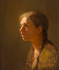 "Aimee Erickson's painting, ""Sarah"", awarded Best of Show at the 2014 American Women Artists national Juried Exhibition."