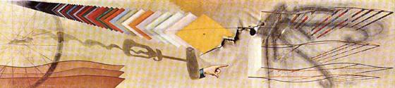 Marchel Duchamp piece showing color in art