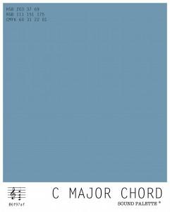 Neil Harbisson's Sound Palette: C Major Chord