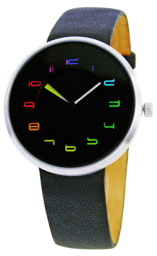 The Chroma Watch designed by Arquitectonica and Laurinda Spear using the Munsell Color System