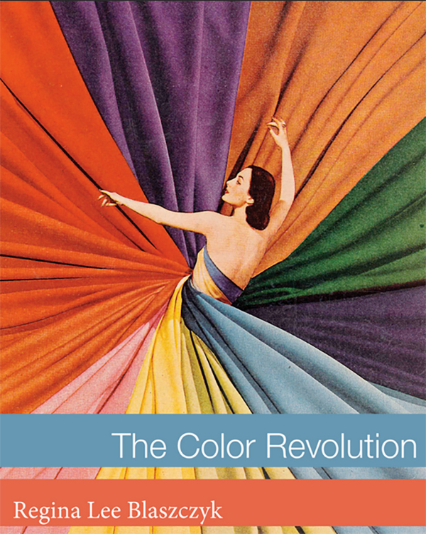 The cover of The Color Revolution book