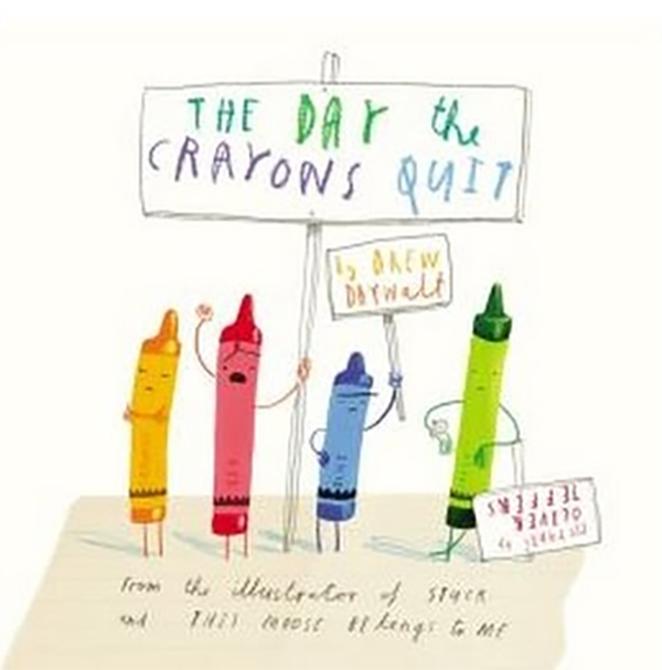 Cover of The Day the Crayon Quit book