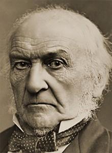 Portrait of William E. Gladstone