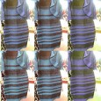 A series of pictures of #thedress showing it in various hues