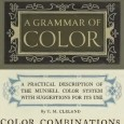 Book plate for A Grammar of Color book, Color Combinations section.