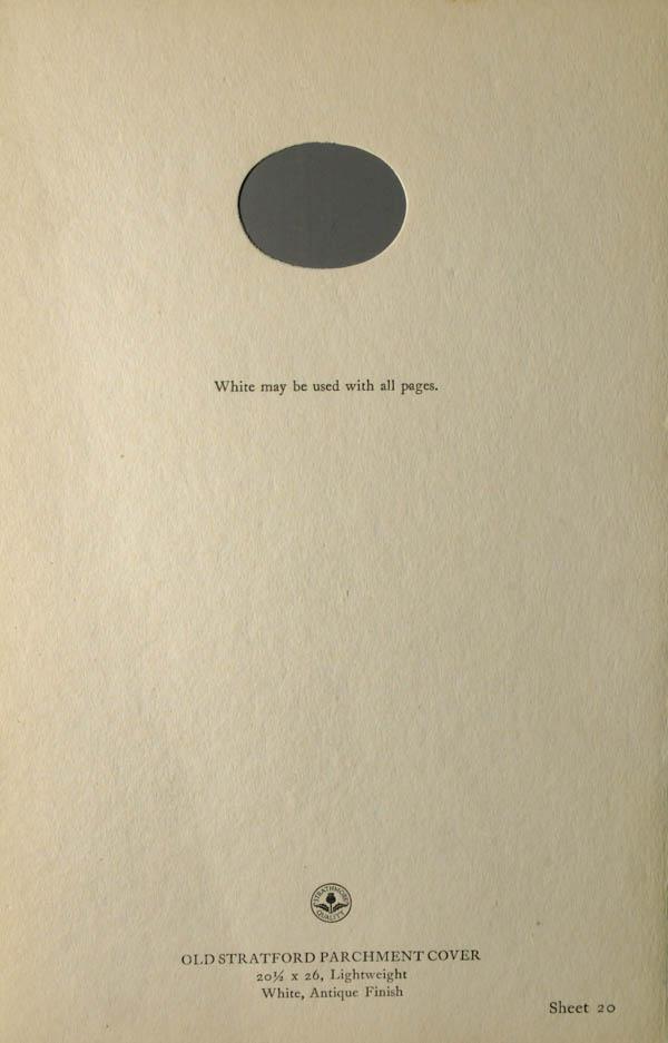 Grammar of Color Sheet Paper #20