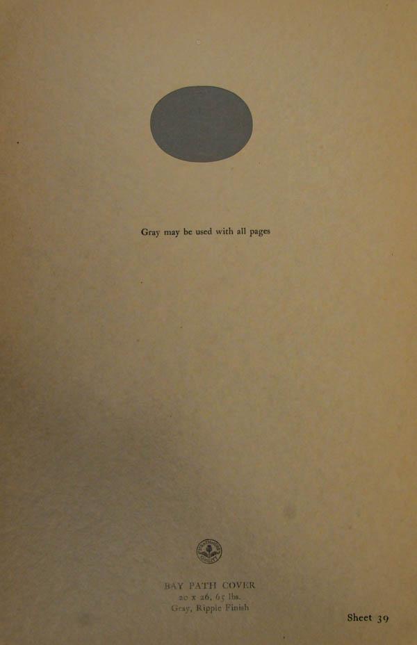 Grammar of Color Sheet Paper #39