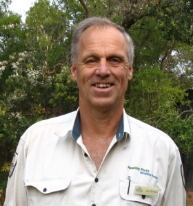 Jim Whelan, Project Manager of the Yanakie Isthmus Coastal Grassy Woodlands Restoration Project at Parks Victoria in Australia.